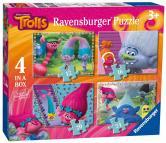 Ravensburger puzzle Trollové 4 v 1