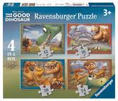 Ravensburger puzzle Můj dobrý dinosaurus Walt Disney 12816/20/24 dílků