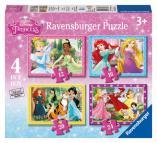 Ravensburger puzzle Disney Princezny  4 v 1 - 12/16/20/24 dílků
