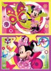 Ravensburger puzzle Jeden den s Minnie 2x24 dílků