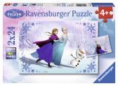 Ravensburger puzzle Ledové království 2 x 24 dílků