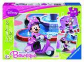 Ravensburger puzzle Minnie v parku 3x49 dílků