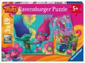 Ravensburger puzzle Trollové 3x49 dílků II.