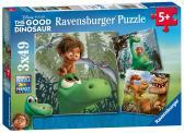 Ravensburger puzzle Walt Disney  Hodný Dinosaurus 3x49 dílků