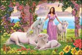 Ravensburger puzzle Krásná princezna 150 dílků XXL