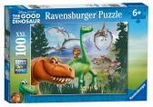 Ravensburger Disney Hodný Dinosaurus Dobrodružství 100 XXL dílků