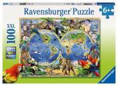 Ravensburger Světová zvířata 100 XXL dílků