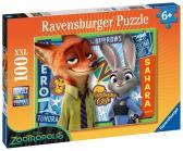 Ravensburger Disney Město zvířat 100 XXL dílků