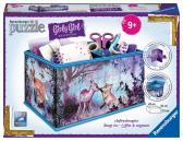Ravensburger puzzle Úložná krabice zvířecí trend 216 dílků