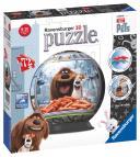 Ravensburger puzzleball Tajný život mazlíčků puzzleball 72 dílků