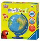 Ravensburger puzzle ball Mapa světa 180 dílků