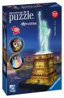 Ravensburger 3D puzzle Socha Svobody 3D (Noční edice) 108 dílků