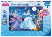 Ravensburger puzzle Disney princezny: Popelka 100 dílků svítící