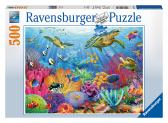Ravensburger puzzle Tropical Waters 500 dílků