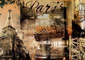 Ravensburger puzzle Nostalgická Paříž 1000 dílků