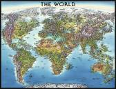 Ravensburger puzzle Mapa světa 2000 dílků