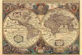 Ravensburger puzzle Historická mapa 5000 dílků