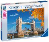 Ravensburger puzzle Pohled Tower Bridge 1000 dílků