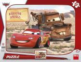 Dino puzzle Walt Disney Cars: Blesk & Burák 12 dílků tvarové