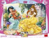 Dino puzzle Walt Disney Princezny a mazlíčci 12 dílků tvarové