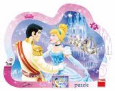 Dino puzzle Walt Disney Zamilovaná Popelka 25 dílků
