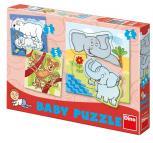 Dino puzzle Zoo baby 3-5 dílků