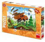 Dino puzzle Tatra na cestách 100 dílků XL