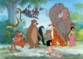 Dino podlahové puzzle Walt Disney Kniha Džunglí 24 dílků
