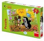 Dino puzzle Krtek 24 dílků
