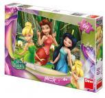 Dino puzzle Walt Disney Fairies  Zvonilka 66 dílků