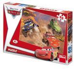 Dino puzzle Walt Disney Cars 66 dílků