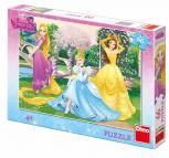 Dino puzzle Walt Disney Princezny v zahradě 66 dílků