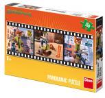 Dino puzzle Zootropolis 150 dílků panoramic