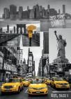 Dino puzzle New York - koláž 1000 dílků