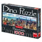Dino puzzle Chicago 1000 dílků panoramic