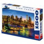 Dino puzzle Pohled na Brooklynský most 1500 dílků
