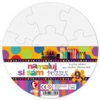 Efko Namaluj si sám puzzle kruh, 9 dílků