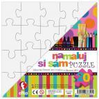 Efko Namaluj si sám puzzle čtverec, 20 dílků
