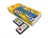 Domino barvy a tvary