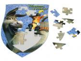Efko Puzzle Shrek Oslík a Kocour v botách 24 dílků
