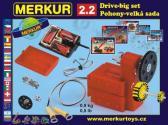 Stavebnice Merkur - Pohony a převody