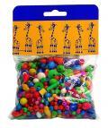 Mix perlí 100g barevný