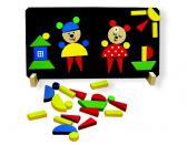 Efko Magnetické puzzle Medvědi, 37 dílků