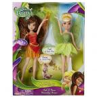 Disney Víly  2v1 Zvonilka a Fauna 22cm panenka
