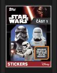 Star Wars EP VII.: balíček samolepek