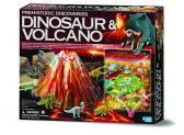 Prehistorické objevy: Dinosaurus & vulkán