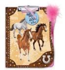 Desky A4 s klipem a perem- koně
