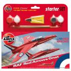 Airfix Starter Set Red Arrows Gnat (1:72)