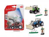 Traktor a farmář s příslušenstvím