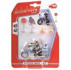 Policejní motocykl 10 cm s příslušenstvím
